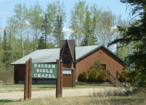 Balsam Bible Chapel near Bovey MN