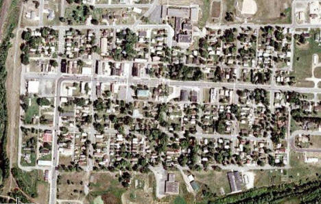 Aerial Photo, Bovey Minnesota, 2007