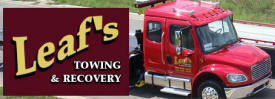 Leaf's Towing & Recovery, Braham Minnesota
