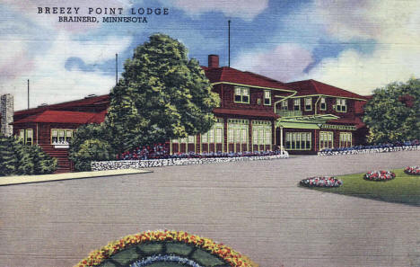 Breezy Point Lodge, Brainerd Minnesota, 1948