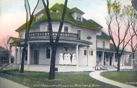 Northwestern Hospital, Brainerd Minnesota, 1910's