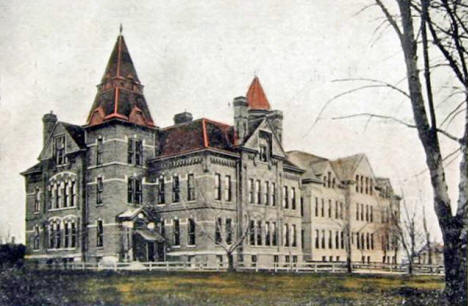 High School, Brainerd Minnesota, 1908