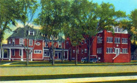 Northwestern Hospital, Brainerd Minnesota, 1920's