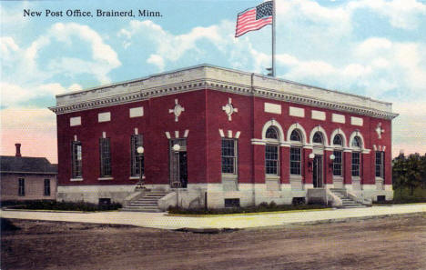 Post Office, Brainerd Minnesota, 1910