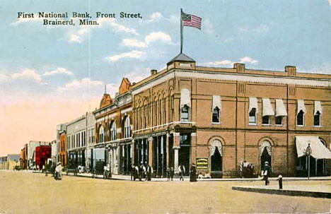 First National Bank, Brainerd Minnesota, 1900