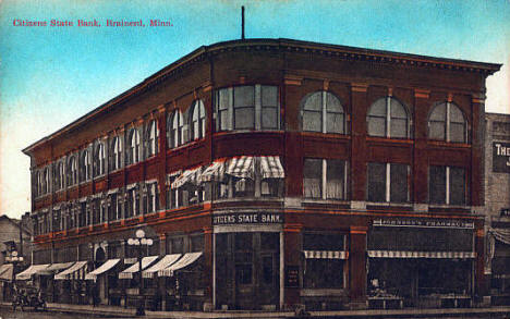 Citizens State Bank, Brainerd Minnesota, 1912