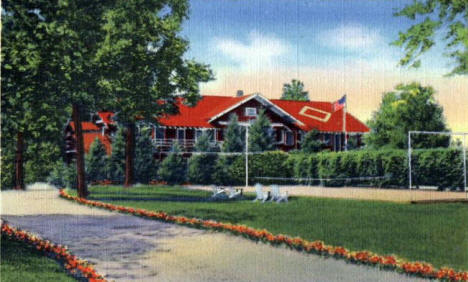 Grand View Lodge, Brainerd Minnesota, 1938
