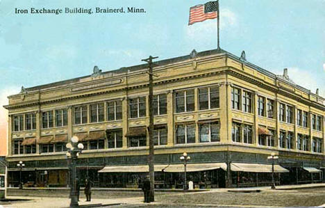 Iron Exchange Building, Brainerd Minnesota, 1912