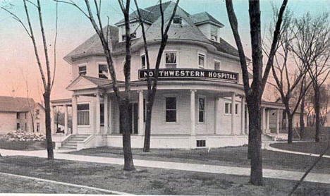Northwestern Hospital, Brainerd Minnesota, 1915