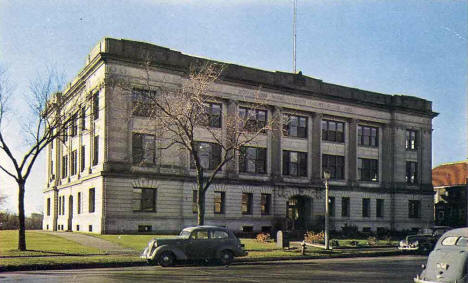 Crow Wing County Courthouse, Brainerd Minnesota, 1950's