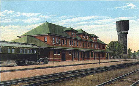 Northern Pacific Depot, Brainerd Minnesota, 1928