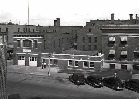 Fire Hall, Brainerd Minnesota, 1936