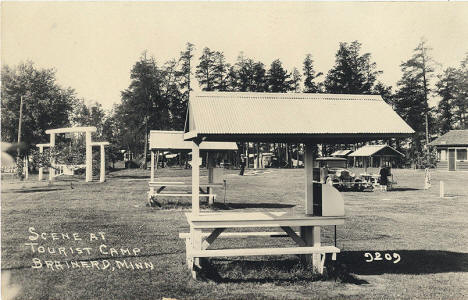 Tourist Camp, Brainerd Minnesota, 1925
