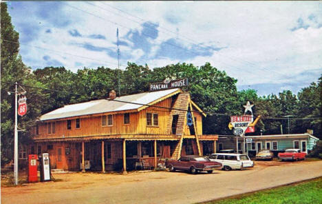 Benedix Resort and Pancake House, Brainerd Minnesota, 1960's