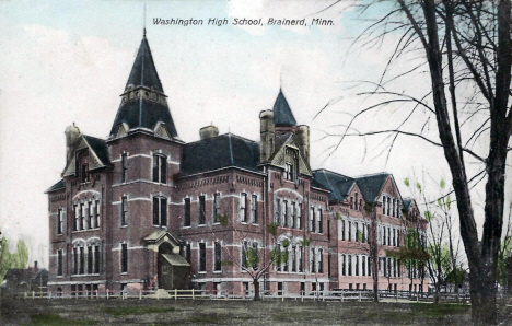 Washington High School, Brainerd Minnesota, 1910