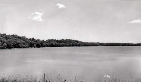 Whiskey Lake, Brandon Minnesota, 1950's