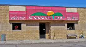 Sundowner Lounge, Breckenridge Minnesota
