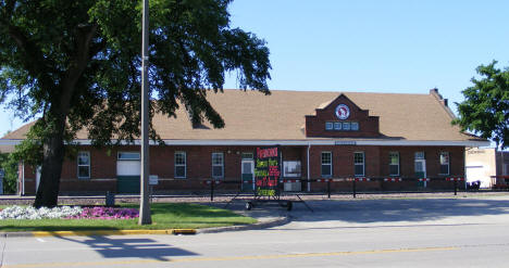 Great Northern Railway Depot, Breckenridge Minnesota, 2008