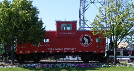 Great Northern Railway Caboose, Breckenridge Minnesota, 2008