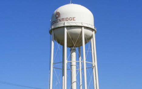 Water Tower, Breckenridge Minnesota, 2008