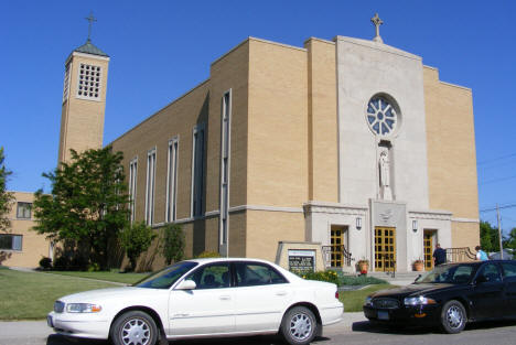 St. Mary's Catholic Church, Breckenridge Minnesota, 2008