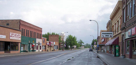 5th Street in Breckenridge Minnesota, 2007