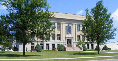 Wilkins County Courthouse, Breckenridge Minnesota, 2008