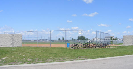 Baseball Field, Breckenridge Minnesota, 2008
