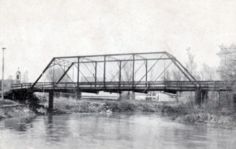 Shirley Addition Bridge, Breckenridge Minnesota, 1908