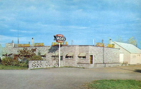 Vada's Steak House, Breckenridge Minnesota, 1950's
