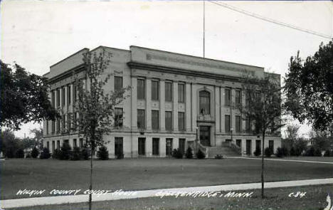 Wilkin County Courthouse, Breckenridge Minnesota, 1948