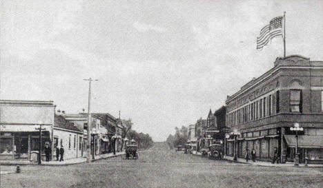 Fifth Street, Breckenridge Minnesota, 1920's?