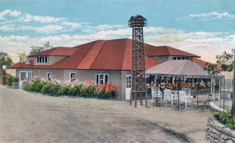 Pavilion at Breezy Point near Brainerd Minnesota, 1930