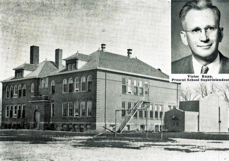 Public School, Bricelyn Minnesota, 1949