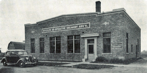 Bricelyn Cooperative Creamery Association, Bricelyn Minnesota, 1940's