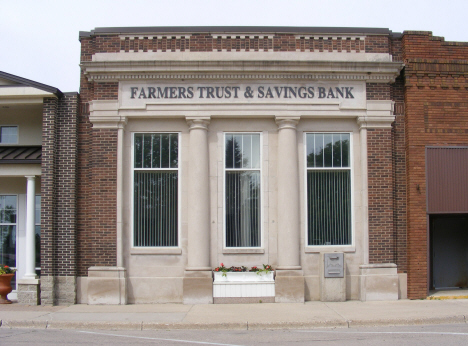 Farmers Trust & Savings Bank, Bricelyn Minnesota, 2014