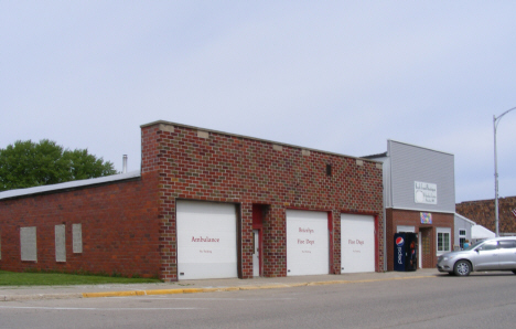 Fire Department, Bricelyn Minnesota, 2014