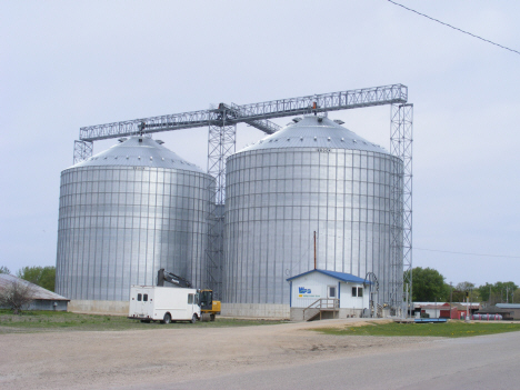 Grain elevators, Bricelyn Minnesota. 2014