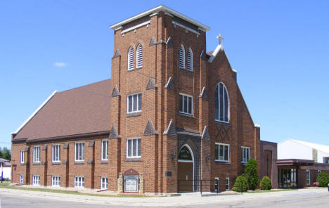 Trinity Lutheran Church, Brooten Minnesota, 2009
