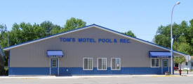 Tom's Motel, Pool and Rec, Brooten Minnesota