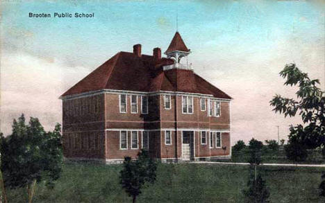 Public School, Brooten Minnesota, 1908