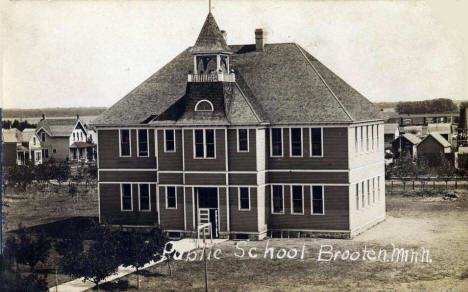 Public School, Brooten Minnesota, 1910