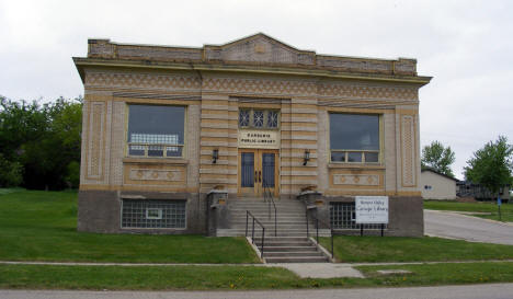 Carnegie Library, Browns Valley Minnesota, 2008