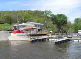Lawrence Lake Marina & Bait, Brownsville Minnesota