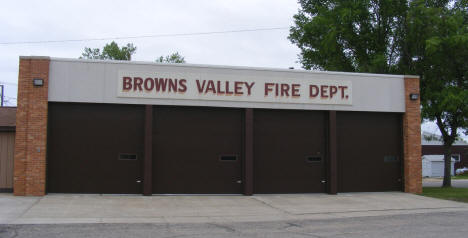 Browns Valley Fire Department, Browns Valley Minnesota, 2008