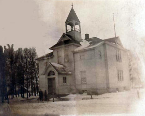 Brownsdale School, Brownsdale Minnesota, 1909