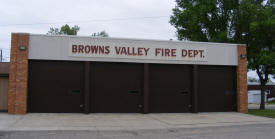 Browns Valley Fire Department, Browns Valley Minnesota
