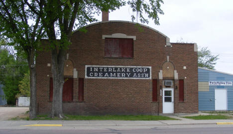 Interlake Coop Creamery Association, Browns Valley Minnesota, 2008