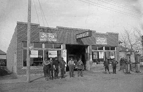 Ford Garage, Buckman Minnesota, 1925