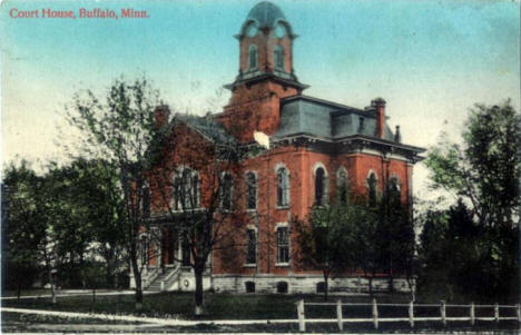 Court House, Buffalo Minnesota, 1910